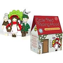 Il kit Crafty Co. Cucito kit-fairy racconto mobile-little Cappuccetto Rosso