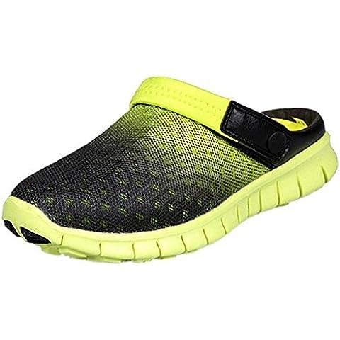 SAGUARO® Adultos Jardín de los zapatos de malla transpirable Beach deslizadores de las sandalias