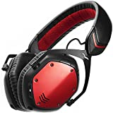 V-MODA Crossfade Wireless Casque Audio supra-auriculaire sans fil - Rouge