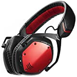V-MODA Crossfade Wireless Over-Ear Kopfhörer Bluetooth- Rouge