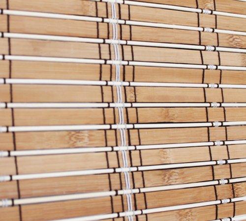 Bambù rollo tenda a pacchetto pieghevole behang protezione solare (90x 180cm)
