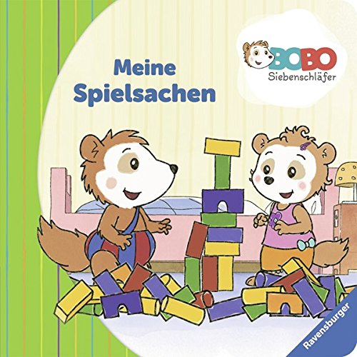 Bobo Siebenschläfer: Meine - Spielsachen Buch Meine