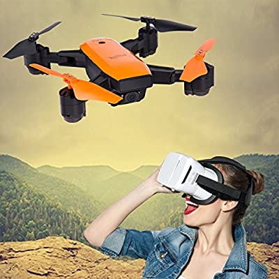 LE-IDEA IDEA7 GPS WI-FI FPV RC Drone with Camera Live Video and GPS One Key Return Home Quad copter with Map Appear and Route Drawing,720P HD Camera FOV 120 ¡ã- Follow Me, Altitude Hold,Auto Surround