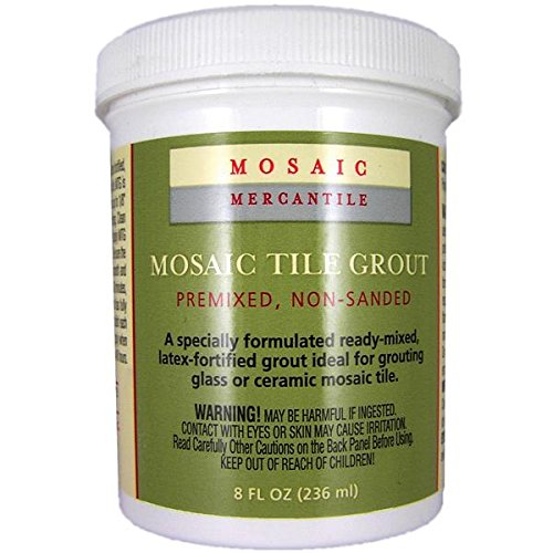 Mosaic Mercantile Grout Tile 8 oz White