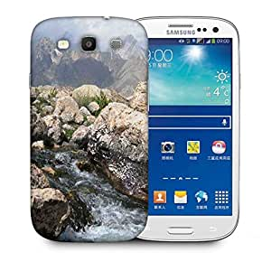 Snoogg Big White Rock Printed Protective Phone Back Case Cover For Samsung S3 / S III