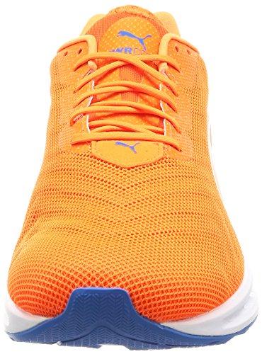 Puma Ignite 3 Pwrcool, Scarpe da Corsa Uomo Arancione (Orange Clown Fish-french Blue 01)