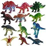 HC-Handel 12 x 915697 Kunststoff Dinosaurier Sortiert Plastikfiguren 7 cm