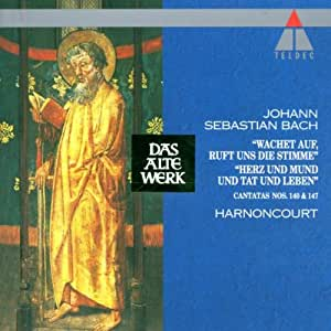 Bach: Cantatas BWV 140 and 147 /Harnoncourt