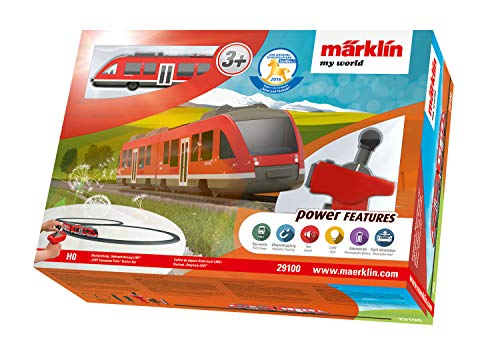 Märklin My World 72213-binario con luce a stazione ferroviaria-Merce Nuova