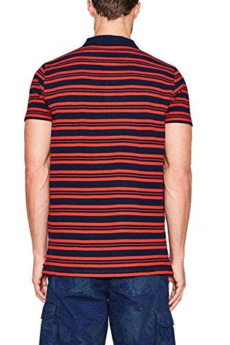 ESPRIT Herren Poloshirt Rot (Coral Red 640)