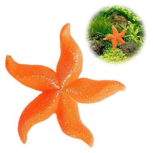 Kimruida Aquarium Aquarium Landschaft Meer Künstliche Korallen Starfish Ornament Dekoration