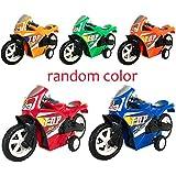 Vovotrade Ziehen Sie Auto-Strand-Vierrad Motorrad-Modell Baby Kids Children Toys zurück (Zufällig)