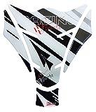 Tankpad 3D 501711 Racing Sports Grey Tank-Schutz für Motorrad-Tank