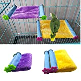 Keer Winter Warm Bird Nest House Bed Hammock Toy for Pet Parrot Budgie Parakeet Cockatiel Conure Cockatoo African Grey Eclectus Amazon Lovebird Finch Canary Hamster Rat Chinchilla Cage Perch