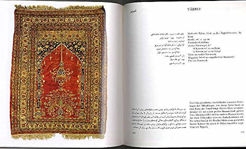 Der Persische Teppich. Text deutsch / persisch -