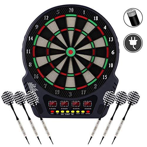 DD&k Target di Freccette Elettroniche, E Ha Il Compito di Puntare al Bersaglio di Freccette, Spuntoni di Riserva, 27 Giochi E 243 Modelli per 16 Giocatori