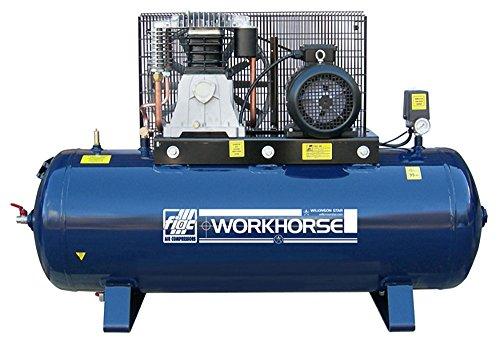 Compresseur d'air machine Fiac (Tarn) Essence 200L 21CFM 415V