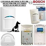 Universel 40m Bosch Pet Détecteur PIR Filaire pour n'importe quel Système d'alarme antivol