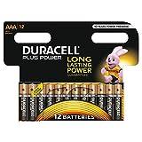 Duracell Plus Power AAA Batterien, 12er Pack