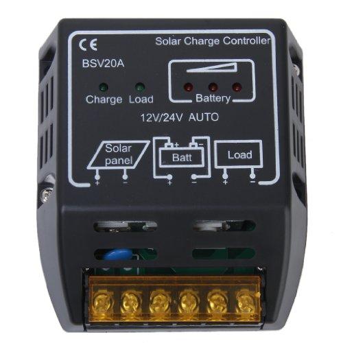 20a 12v 24v Pannello Solare Regolatore Del Caricatore Controller
