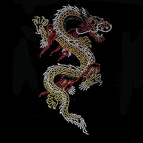 Bügelflicken Inkjet Eisen Auf Transfers Papier/T-Shirt Transfers, DIY Kleidung T-Shirt Wärmeübertragung Eisen Auf Transfer Exquisite Personalisierte Acryl Strass Eisen Auf Transfer, 11,81 7,87 In -