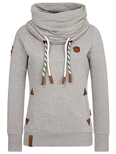 Naketano Reorder VIII W Sweater grigio mélange