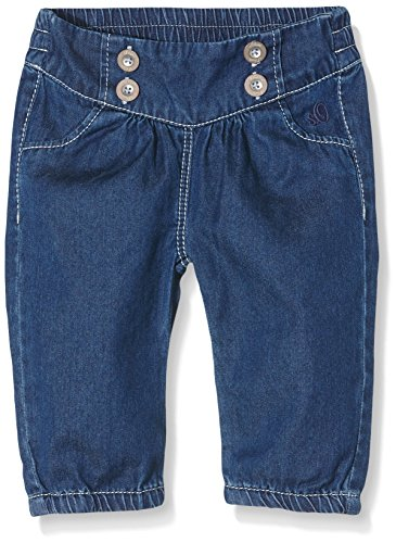 s.Oliver Baby - Mädchen Jeanshose mit Elastischem Bund, Blau (Blue Denim Non Stretch 56Y2), 92