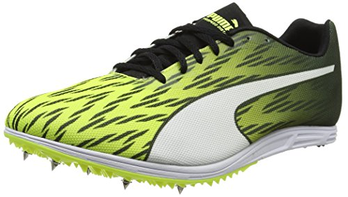 Puma Herren Evospeed Distance 7 Leichtathletikschuhe, Gelb (Safety Yellow Black-White), 41 EU