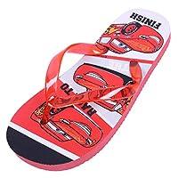 Red Flip-Flops for Boys Cars Lightning McQueen Disney