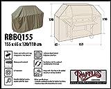 Raffles Covers BBQ Grill Abdeckhaube 155 x 65 cm Wetterschutzhülle für Grill, Abdeckplane BBQ