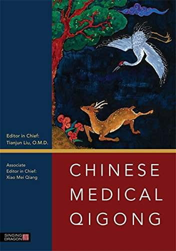 Chinese Medical Qigong - Black White Paper Oriental Und