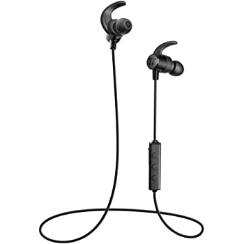 Bluetooth Headphones, TaoTronics Upgraded 4.2 aptX Stereo Sunvalley Wireless Sports Running Earbuds (IPX6 Sweat Proof, 8 Hours Playtime and CVC 6.0 Noise Cancelling Built in Mic