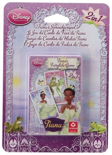 Cartamundi-107514924101-Kartenspiel-Memory-Spiel + Spiel der Prinzessin Tiana-2in 1 (Spiele Tiana Prinzessin)