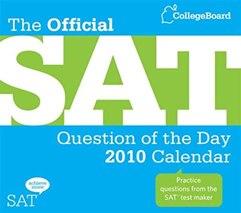 The Official SAT Question of the Day 2010 Calendar