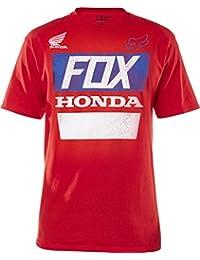 Fox - - Honda Distressed T-shirt basique pour hommes