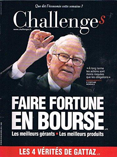 Challenges N°430 23 avril 2015: Faire fortune en bourse par collectif