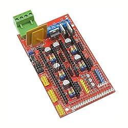 Generic 2PCS 3D Printer Controller Board Module For RAMPS 1. 4 REPRAP PRUSA MENDEL New