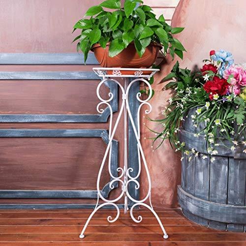 XHCP Udfybre Europäischen Schmiedeeisen Blumenregal Große Blumenregal Bodentyp Wohnzimmer Pflanzgefäß Balkon Pflanze Rahmen Grüne Kirschen Hängen Bonsai (Farbe: A) -