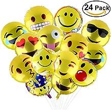 BESTOMZ Palloncino,18 Pollici Party Palloni Foil Colorati gonfiabili  11 Articoli per Feste Palloncino (24