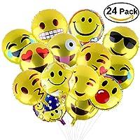 Questi palloncini di espressione divertente emozione sono in pellicola di alluminio. Si può aggiungere divertimento al matrimonio speciale, celebrazione, festa, compleanno, attività del partito. Creare l'atmosfera perfetta per i vostri bambin...