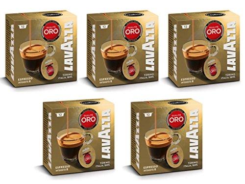 Find Lavazza A Modo Mio Qualita Oro 12 Coffee Capsules (Pack of 5) - Lavazza