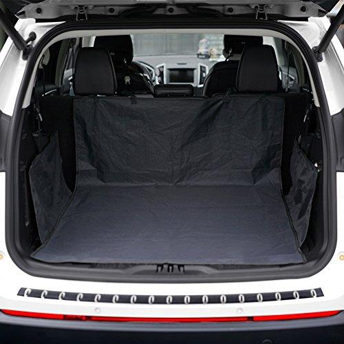 Kofferraumschutz Hunde wasserdichte Kofferraumdecke für Auto Schondecken mit Seitenschutz Ideal für Hunde KYG Kofferraumschutz Anti Rutsch 155*104*33 cm