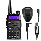 Baofeng UV-5R 2M/70CM VHF/UHF Dualband Amateurfunk Handfunkgerät FM 65-108MHz Transceiver Radio