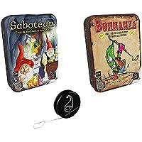 Lot de jeux Gigamic : Saboteur + Bohnanza + 1 Yoyo Blumie