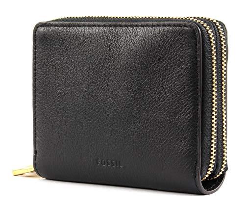 Fossil Mini Tasche (Fossil RFID Mini Multi Wallet Black)
