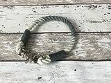 Tau-Halsband Größe 33-35cm Grau