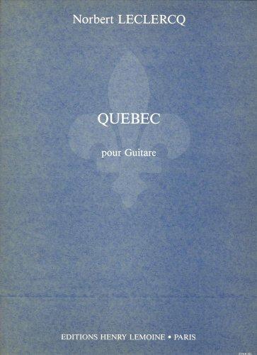 Québec : Pour guitare