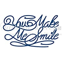 Tattered Lace–You Make Me Smile D435Stephanie Weightman