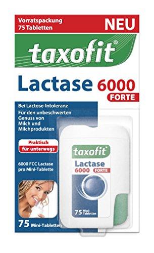 TAXOFIT Lactase 6.000 forte Tabletten 75 St Tabletten
