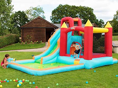 BeBop Aire de Jeux Aquatique Gonflable Wild Splash de pour Jardin
